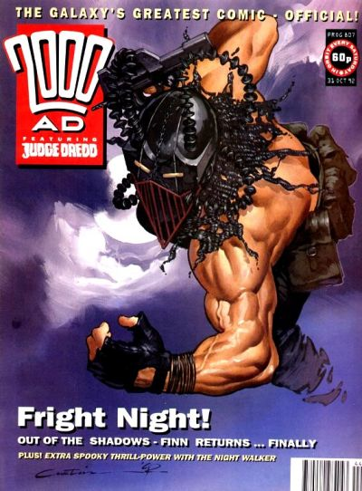 Cover for 2000 AD (Fleetway Publications, 1987 series) #807
