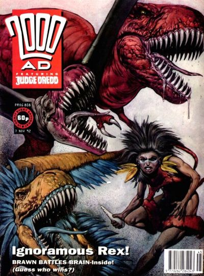 Cover for 2000 AD (Fleetway Publications, 1987 series) #808