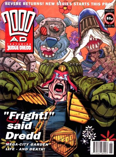 Cover for 2000 AD (Fleetway Publications, 1987 series) #809