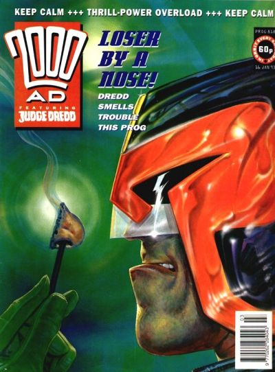Cover for 2000 AD (Fleetway Publications, 1987 series) #818