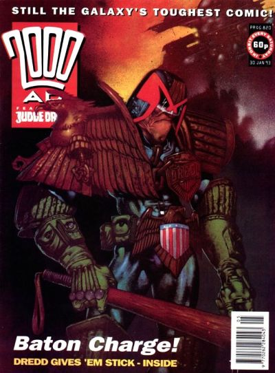 Cover for 2000 AD (Fleetway Publications, 1987 series) #820