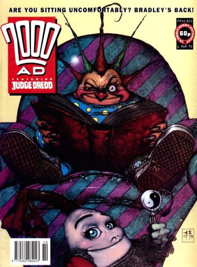 Cover for 2000 AD (Fleetway Publications, 1987 series) #825