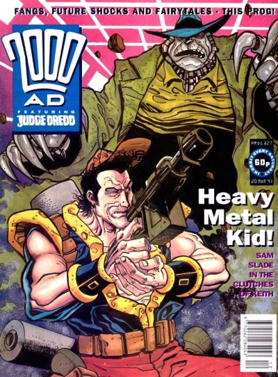 Cover for 2000 AD (Fleetway Publications, 1987 series) #827
