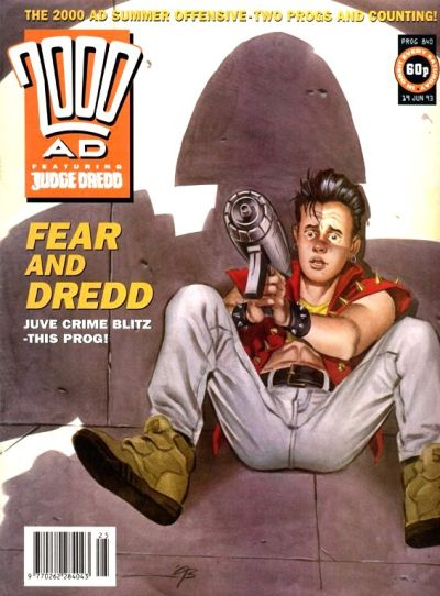 Cover for 2000 AD (Fleetway Publications, 1987 series) #840