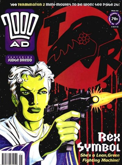 Cover for 2000 AD (Fleetway Publications, 1987 series) #856