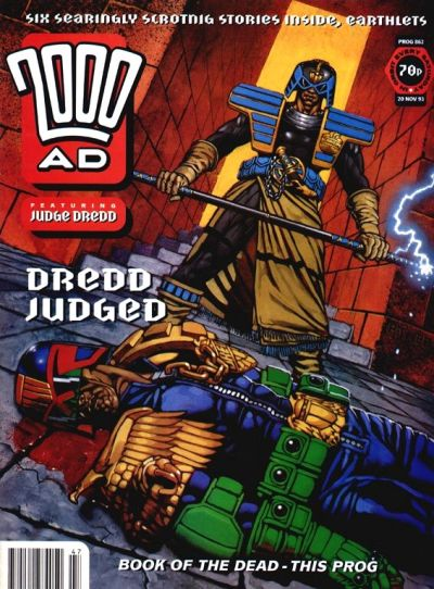 Cover for 2000 AD (Fleetway Publications, 1987 series) #862