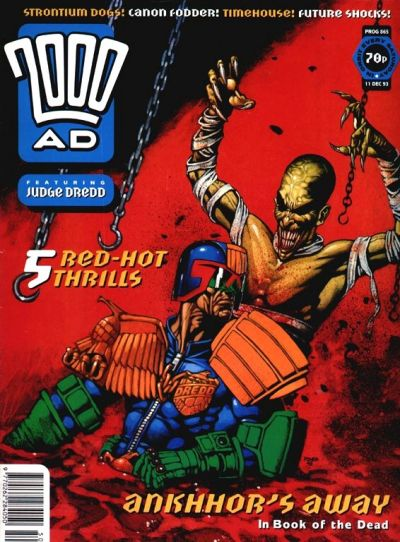 Cover for 2000 AD (Fleetway Publications, 1987 series) #865