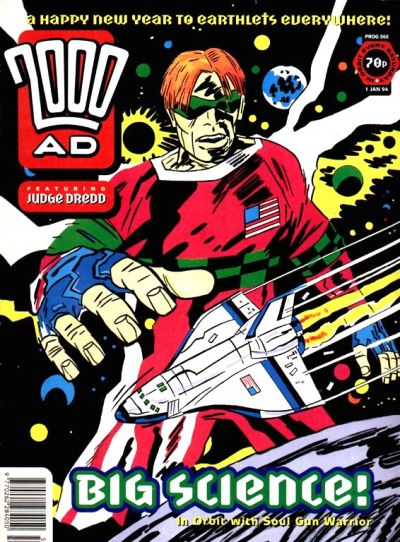 Cover for 2000 AD (Fleetway Publications, 1987 series) #868