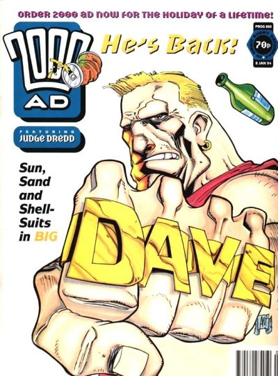 Cover for 2000 AD (Fleetway Publications, 1987 series) #869