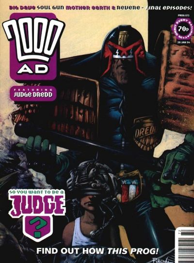 Cover for 2000 AD (Fleetway Publications, 1987 series) #872