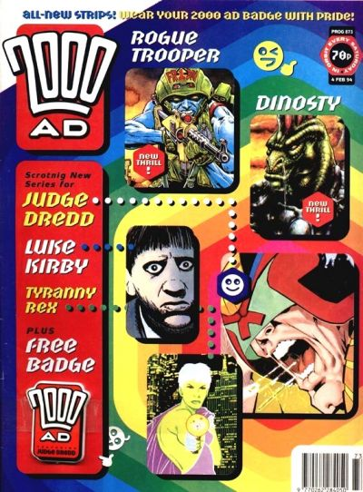 Cover for 2000 AD (Fleetway Publications, 1987 series) #873