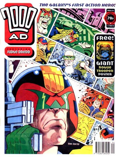 Cover for 2000 AD (Fleetway Publications, 1987 series) #874