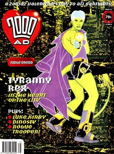 Cover for 2000 AD (Fleetway Publications, 1987 series) #875