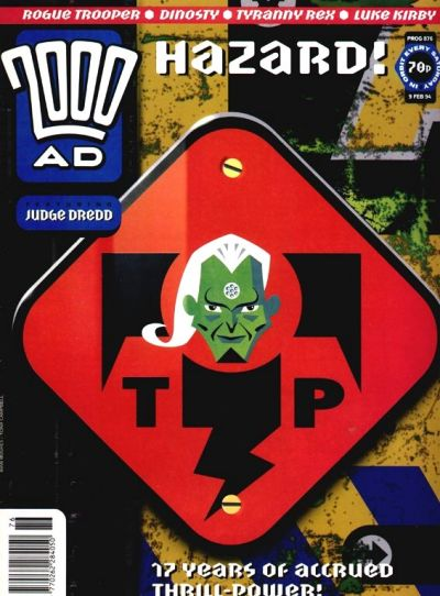Cover for 2000 AD (Fleetway Publications, 1987 series) #876