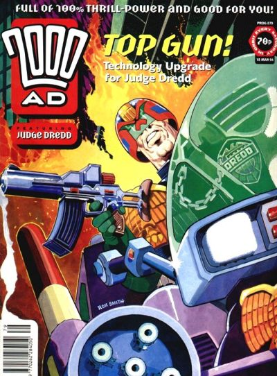 Cover for 2000 AD (Fleetway Publications, 1987 series) #879