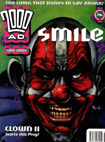 Cover for 2000 AD (Fleetway Publications, 1987 series) #881