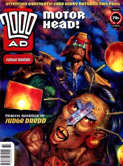 Cover for 2000 AD (Fleetway Publications, 1987 series) #884