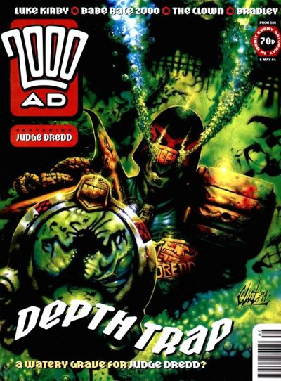 Cover for 2000 AD (Fleetway Publications, 1987 series) #886