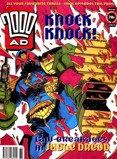 Cover for 2000 AD (Fleetway Publications, 1987 series) #888