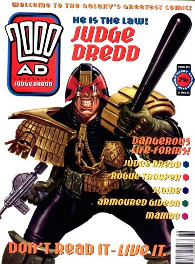Cover for 2000 AD (Fleetway Publications, 1987 series) #889