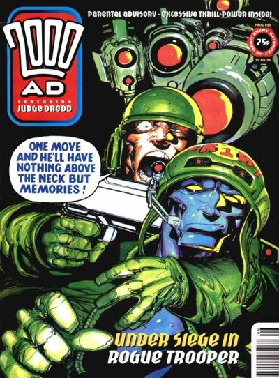 Cover for 2000 AD (Fleetway Publications, 1987 series) #896