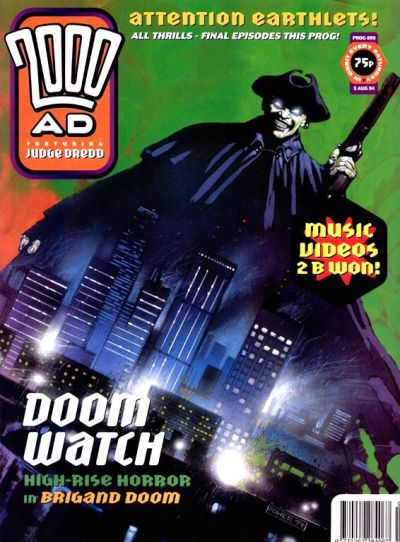 Cover for 2000 AD (Fleetway Publications, 1987 series) #899
