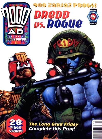 Cover for 2000 AD (Fleetway Publications, 1987 series) #900