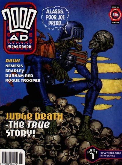 Cover for 2000 AD (Fleetway Publications, 1987 series) #901