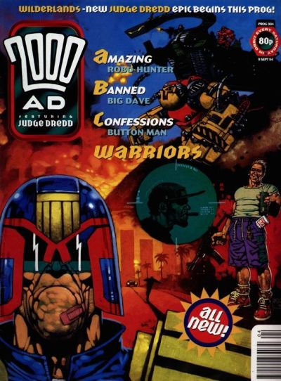 Cover for 2000 AD (Fleetway Publications, 1987 series) #904