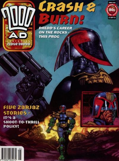Cover for 2000 AD (Fleetway Publications, 1987 series) #905