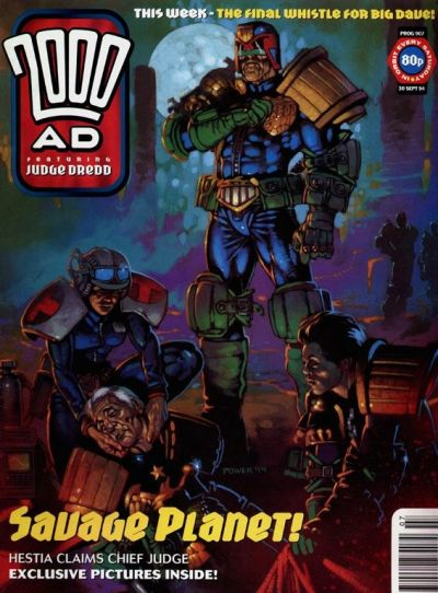 Cover for 2000 AD (Fleetway Publications, 1987 series) #907