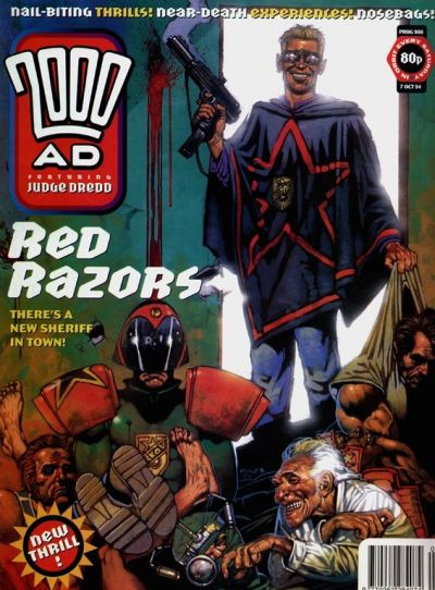 Cover for 2000 AD (Fleetway Publications, 1987 series) #908