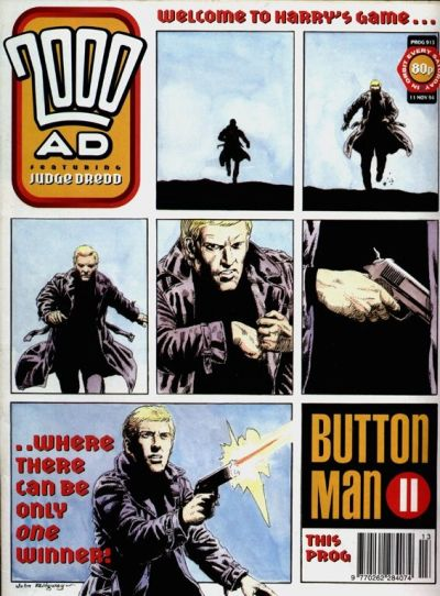 Cover for 2000 AD (Fleetway Publications, 1987 series) #913