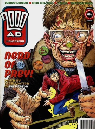 Cover for 2000 AD (Fleetway Publications, 1987 series) #915
