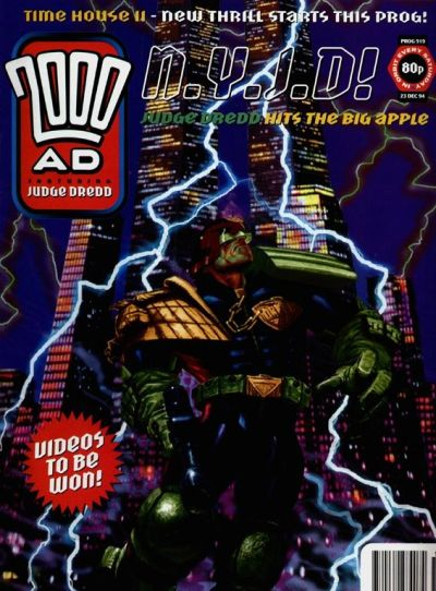 Cover for 2000 AD (Fleetway Publications, 1987 series) #919