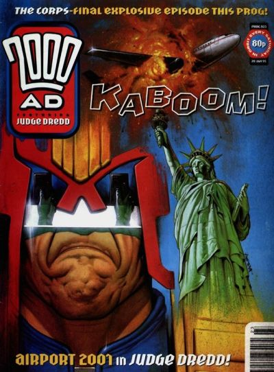 Cover for 2000 AD (Fleetway Publications, 1987 series) #923