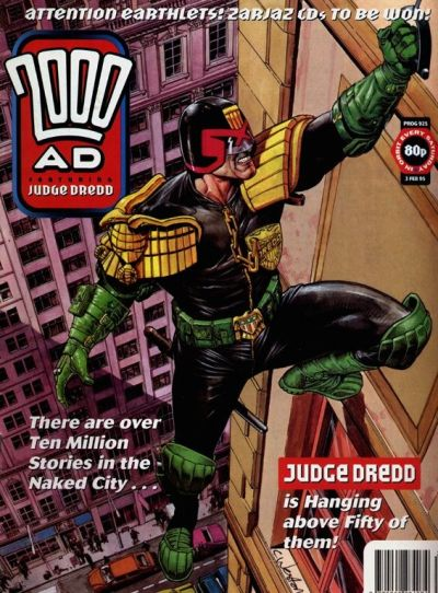 Cover for 2000 AD (Fleetway Publications, 1987 series) #925