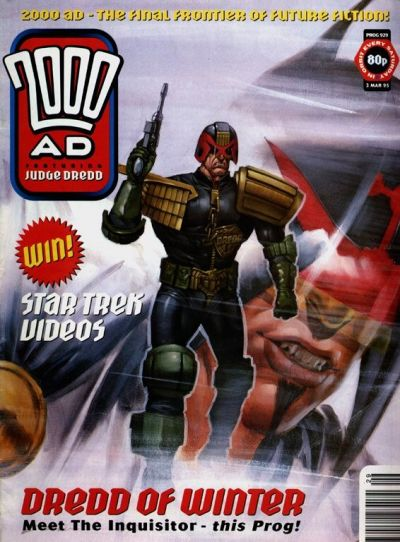 Cover for 2000 AD (Fleetway Publications, 1987 series) #929