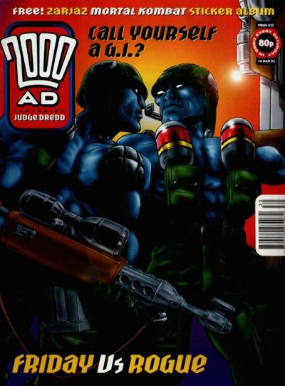 Cover for 2000 AD (Fleetway Publications, 1987 series) #930