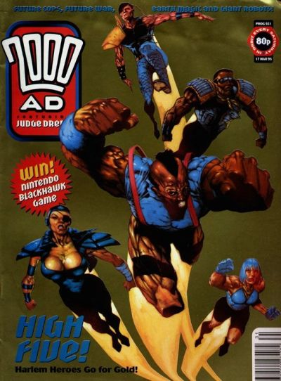Cover for 2000 AD (Fleetway Publications, 1987 series) #931