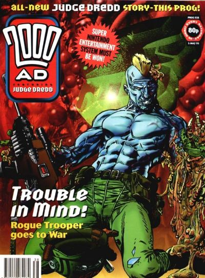 Cover for 2000 AD (Fleetway Publications, 1987 series) #938