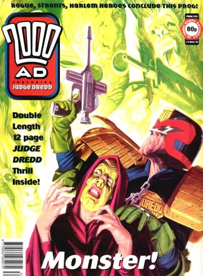 Cover for 2000 AD (Fleetway Publications, 1987 series) #939