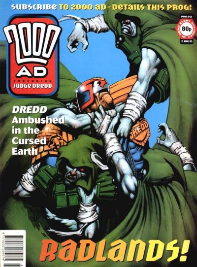 Cover for 2000 AD (Fleetway Publications, 1987 series) #942