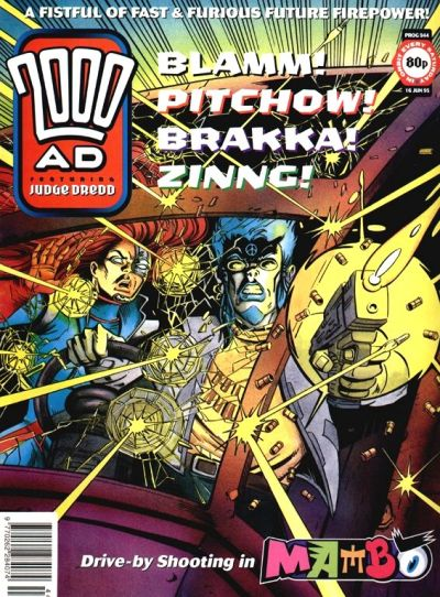 Cover for 2000 AD (Fleetway Publications, 1987 series) #944