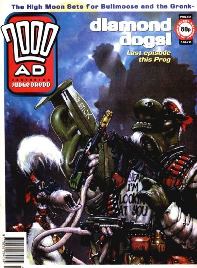 Cover for 2000 AD (Fleetway Publications, 1987 series) #947