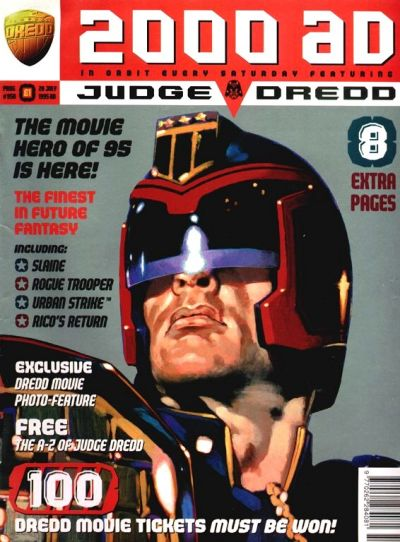 Cover for 2000 AD (Fleetway Publications, 1987 series) #950