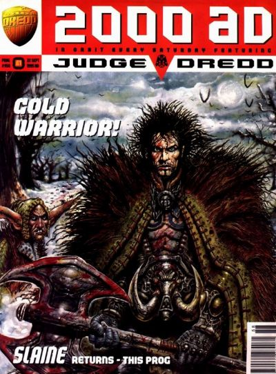 Cover for 2000 AD (Fleetway Publications, 1987 series) #958
