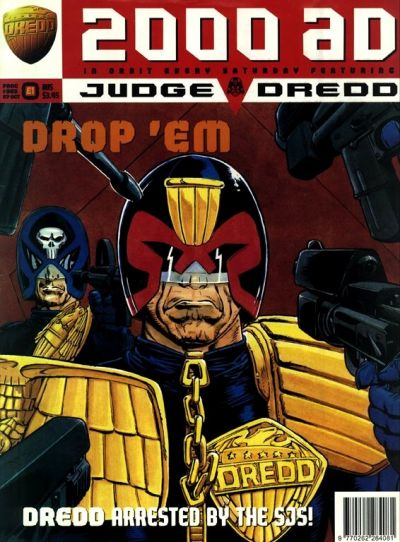 Cover for 2000 AD (Fleetway Publications, 1987 series) #963