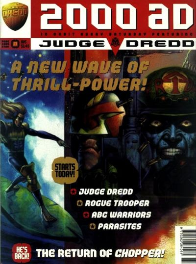 Cover for 2000 AD (Fleetway Publications, 1987 series) #964