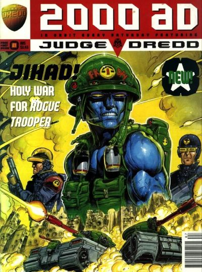 Cover for 2000 AD (Fleetway Publications, 1987 series) #967